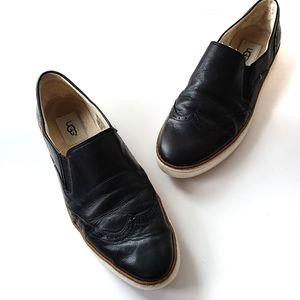 UGG Australia Hadria Slip-On Sneaker Black Size 9